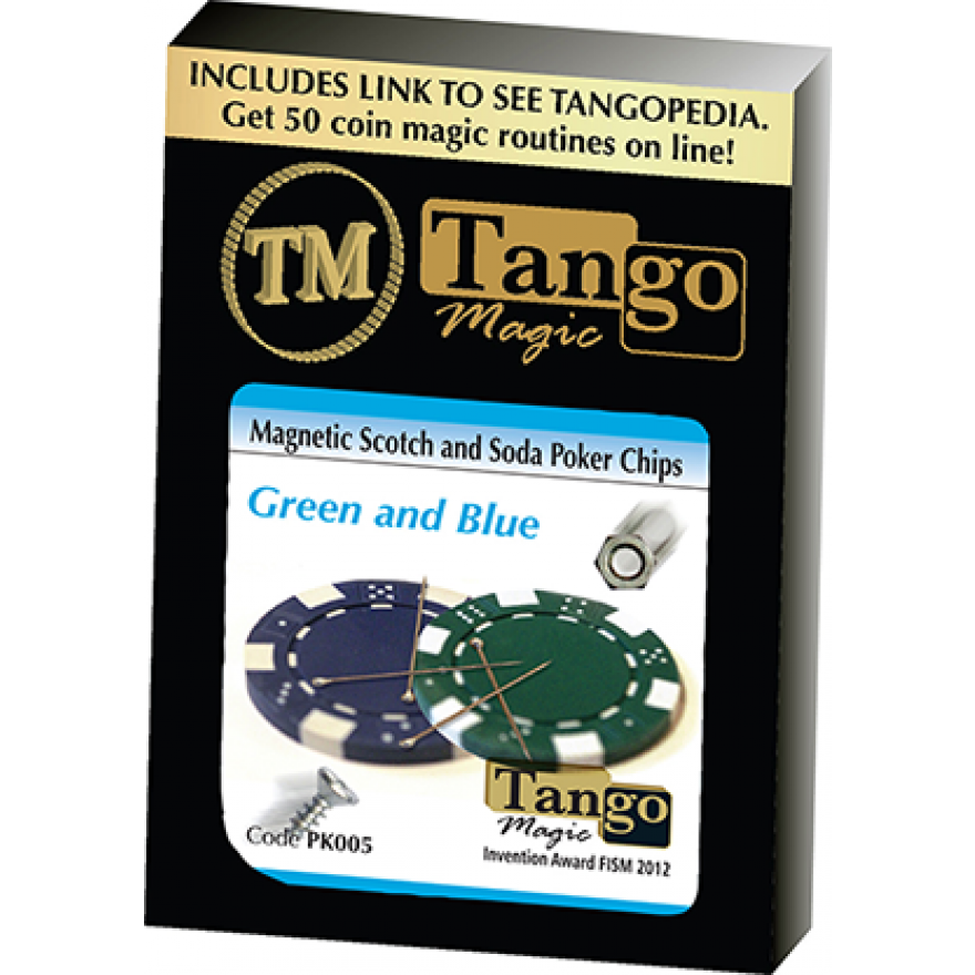 Magnetic Scotch and Soda Poker Chips von Tango