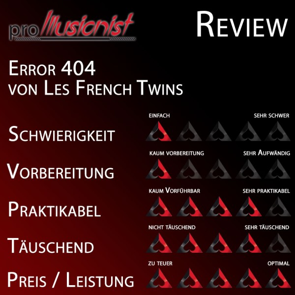 Error 404 von Les French Twins - Review
